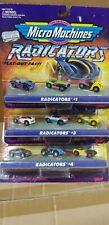 Micro Machines Galoob 1997 radicators 1,3 & 4 FREESHIP!