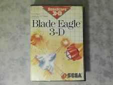 BLADE EAGLE 3-D - SEGA SCOPE 3D - MASTER SYSTEM 8 BIT - PAL ITALIANO - COMPLETO