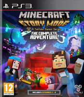 Minecraft Story Mode - Complete Adventure (Ep 1-8) PS3   Fast Dispatch