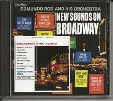 EDMUNDO ROS – New Sounds On Broadway/Broadway Sing-Along (Vocalion, UK)