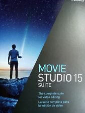 VEGAS Movie Studio 15 Suite Boxed/Sealed DVD  UK/ES Version - Windows 7/8/10