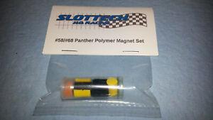 Slottech #58/68 Panther Molded Polymer Megaflux Magnet Package