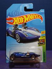 2018 Hot Wheels New TWIN MILL in BLUE HW EXOTICS series 3/10. Long card.
