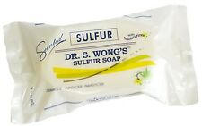 New DR. WONGS SULFUR White Soap Scented with Moisturizers Fungicide USA Seller