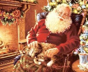 Christmas Print A Long Winters Nap by Donna Gelsinger