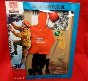 VINTAGE GI JOE ACTION MAN DOLL ACTION FIGURE OUTFIT IN BOX