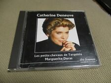 "CD ""MARGUERITE DURAS lu par CATHERINE DENEUVE : LES PETITS CHEVAUX DE TARQUINIA"""