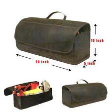 Car Boot Trunk Tidy Storage Bag Organiser Carpet Material Heavy Duty W/ Pockets