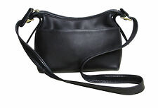 Vintage COACH Purse Small Shoulder Bag Black Leather Costa Rica