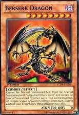 Berserk Dragon  LCJW X 3 Common 1st Ed Yugioh