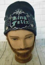 Felix Hernandez Mariners King Felix Black Beanie Hat One Size Fits All