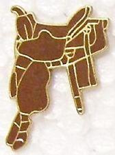 Hat Lapel Pin Tie Tac Western Cowboy Saddle NEW