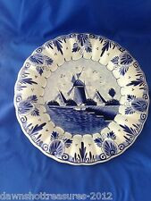 Delft Blue 11 1/2 Wall Hanging Plate