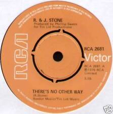"R. & J. Stone~There'S No Other Way / I Just Can'T Get It Right~1976 Uk 7"" Single"