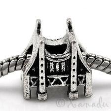 San Fransico Golden Gate Bridge European Bead For Charm Bracelets And Necklaces