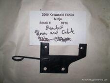 2009 09 Kawasaki Ninja EX500 Horn & Cable Bracket