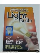 (3) Glass Magic Light Bulb EZ TO DO  street magician Uncle Fester Addams Family