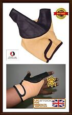Bow Glove Left Hand & Right Hand ( Black &  Beige) All size available-Hunting