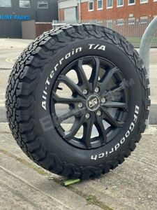 """16"""" IVECO DAILEY 6X125 MSW 48 ALLOY WHEELS AND ALL BFG TERRAIN TYRES"""
