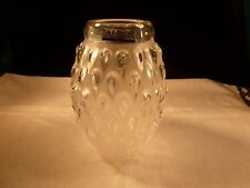 NEW NIB LALIQUE CRYSTAL FIGUERA FROSTED VASE MADE IN FRANCE 1249200
