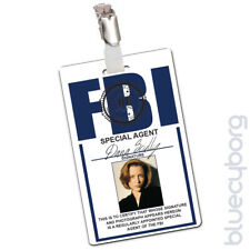 FBI - Dana Skully - Novelty ID Inspired By X-Files