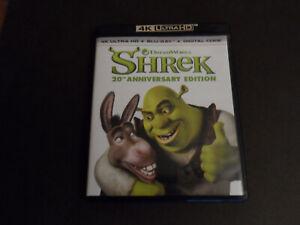 Shrek 20th Anniversary Edition 4K Ultra HD UHD Blu-ray + Blu-ray US IMPORT