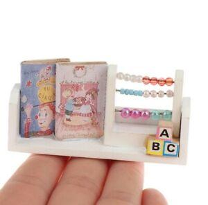 Miniature Dollhouse Accessories Miniature Wall Shelf 1:12th scale miniature size