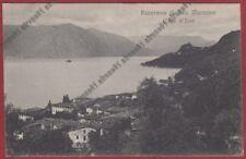 BRESCIA SALE MARASINO 03 LAGO D'ISEO Cartolina viaggiata 1920