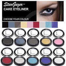 Stargazer Cake Cream Powder Eyeliner Red Pink Black Pressed Cake Eye Liner