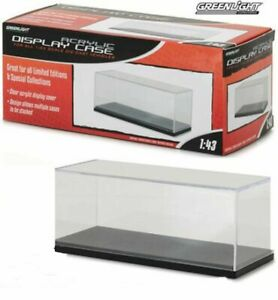 Greenlight 1/43 Plastic Display Case For Model Cars - Stackable! - 55023