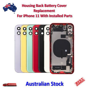 Housing Back Battery Cover Replacement For iPhone 11 With Installed Parts