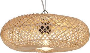 Deckenlampe / Deckenleuchte, in Bali handgemacht aus Naturmaterial, Rattan - Mo