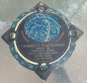 Vintage Hammett's Astronomy Planisphere Celestial Map Sky Chart Great Britain