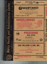 Polk's City Directory Auburn NY 1992 Households & Businesses