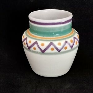 POOLE POTTERY ART DECO VASE .RED CLAY PERIOD 1924-34 SHAPE 582. 1930'S MARK OF I