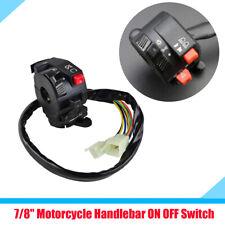 Motorcycle ON OFF Start Kill Headlight Switch Controller for Harley Suzuki BMW