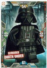 Lego Star Wars Series 2 Trading Cards Card No. 64 Common Darth Vader