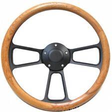 Volkswagen Real Oak Steering Wheel Kit  1960 - 1973 VW Bug  Kharmann Ghia