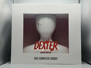 Dexter: The Complete Series Collection Gift Set Blu-ray White Mannequin Head NEW