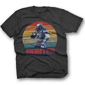 Predator Hunter T Shirt Terminator Film Movie Cult Retro 80S Aliens