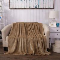 Home Bed Sofa Blanket Felts Mink Warm Throw Faux Fur Fleece Double King Size Bed