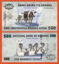P38 ruanda/kinyarwanda 500 francos 2013 UNC