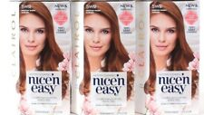 3 Clairol Nice n Easy Conditioners Built Into Every Step 5WR Medium Warm Auburn