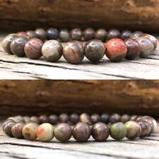 Ocean Jasper Bracelet Crystal Healing Gemstone STRESS RELAX HAPPY JOY NEGATIVITY