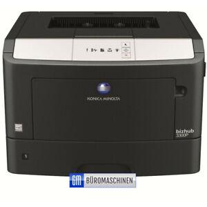 Konica Minolta Bizhub 3300P, bis zu 33 Seiten schnell, USB, Netzwerk, Duplex,#11