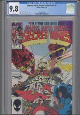 Secret Wars #9  CGC 9.8 1984 Marvel Comic Jim Shooter Story: New Frame