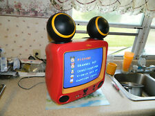 """Disney MICKEY MOUSE WITH SPEAKER EARS CRT TV 13"""" DT1350-C Tested Works Great"""