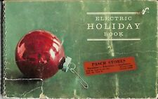 1963 Electric Holiday Book Recipes & Cookies By Wisconsin Electric Power Company