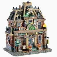 Lemax Spooky Town HAUNTED MUSEUM #85304 BNIB Lighted Building