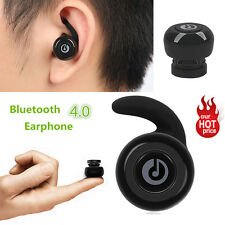 For Samsung iPhone HTC Mini Wireless Bluetooth Headset Stereo Earphone Headphone